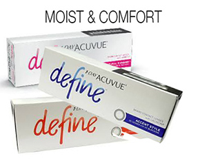1 Day Acuvue Define With Lacreon - 30 pieces